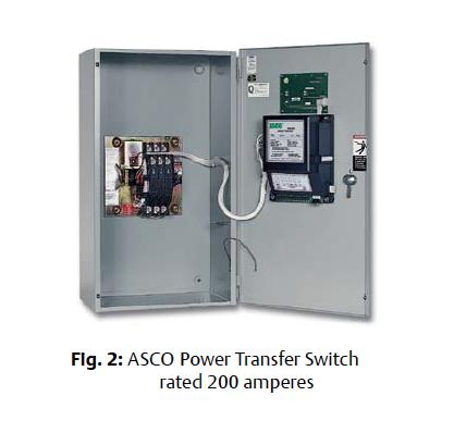 Asco Series 300se Service Entrance Power Transfer Switch
